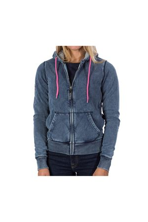 PODHIO  FELPA AUTHENTIC 360 DONNA SNOW WASHED CON ZIP E CAPPUCCIO PODHIO | -108764232 | PD006DJ22J