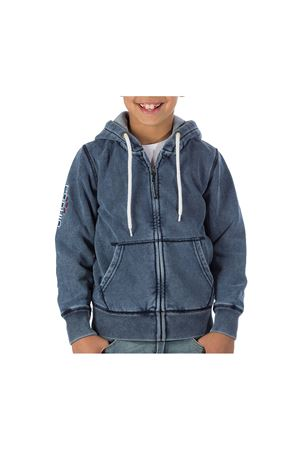 PODHIO FELPA AUTHENTIC 360 JUNIOR CON ZIP E CAPPUCCIO PODHIO | -108764232 | PD00722J