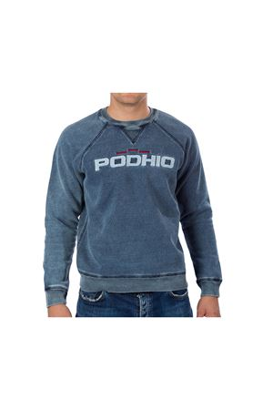 PODHIO  FELPA UOMO AUTHENTIC 360 STONE WASHED GIROCOLLO PODHIO | -108764232 | PD031DJ22J