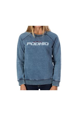 PODHIO FELPA DONNA AUTHENTIC 360 STONE WASHED GIROCOLLO PODHIO | -108764232 | PD032DJ22J