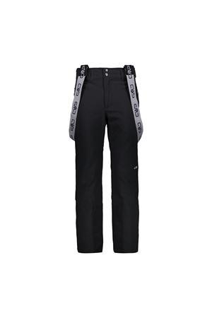 CMP Pantaloni sci uomo con bretelle removibili CMP | 1481122335 | 39W1817U901