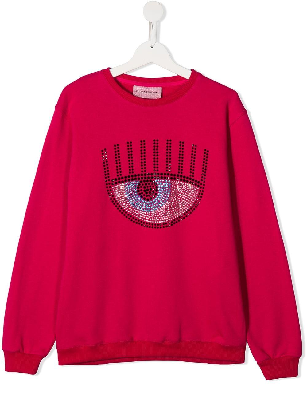 CHIARA FERRAGNI | Sweatshirt | CFKF021FUT