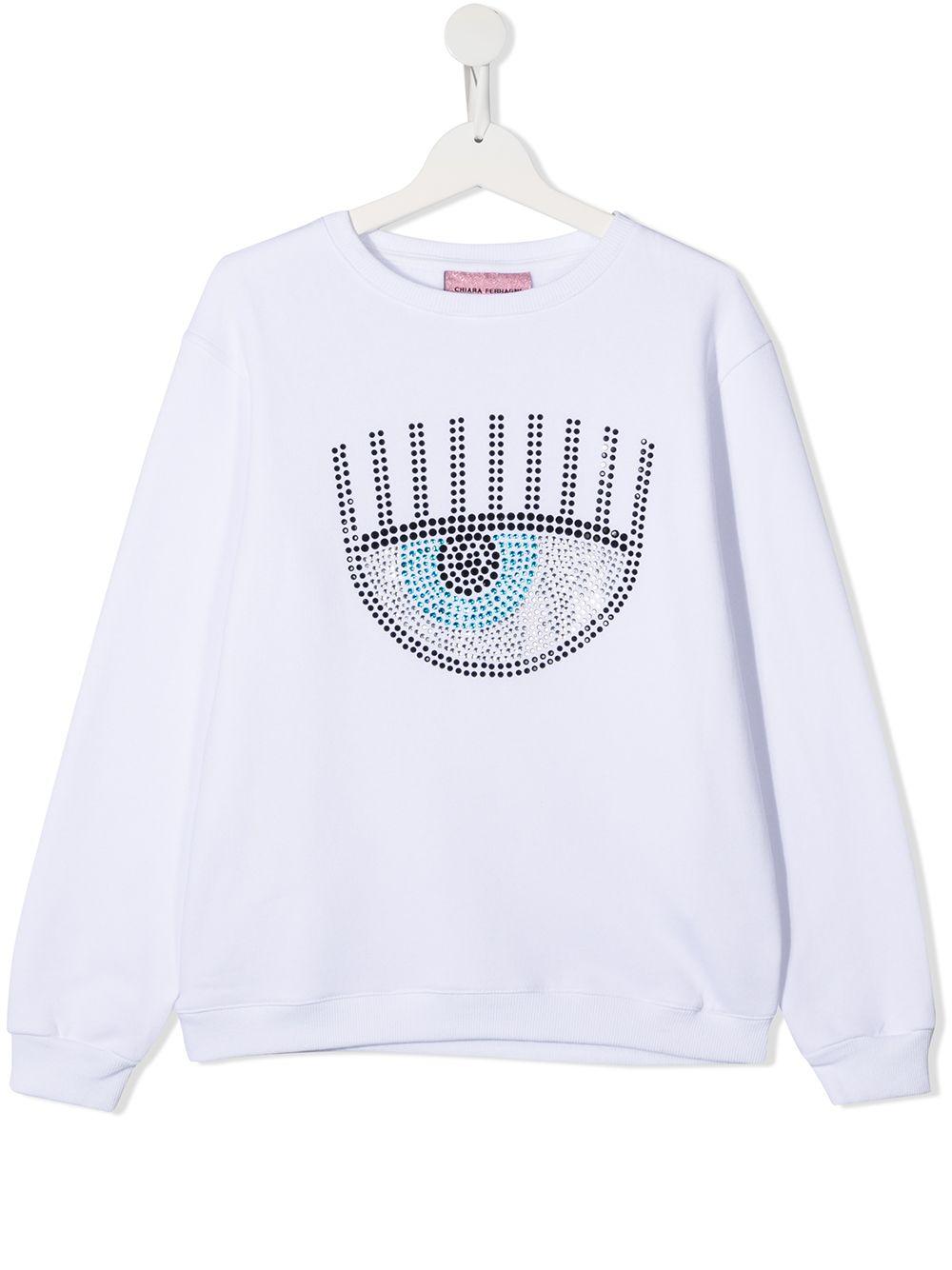 CHIARA FERRAGNI | Sweatshirt | CFKF021WHT