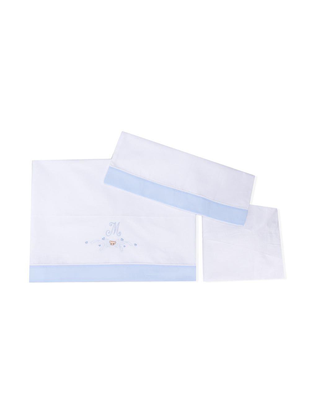 lenzuola cotone MONNALISA BEBE | Completo culla | 356007R967410058