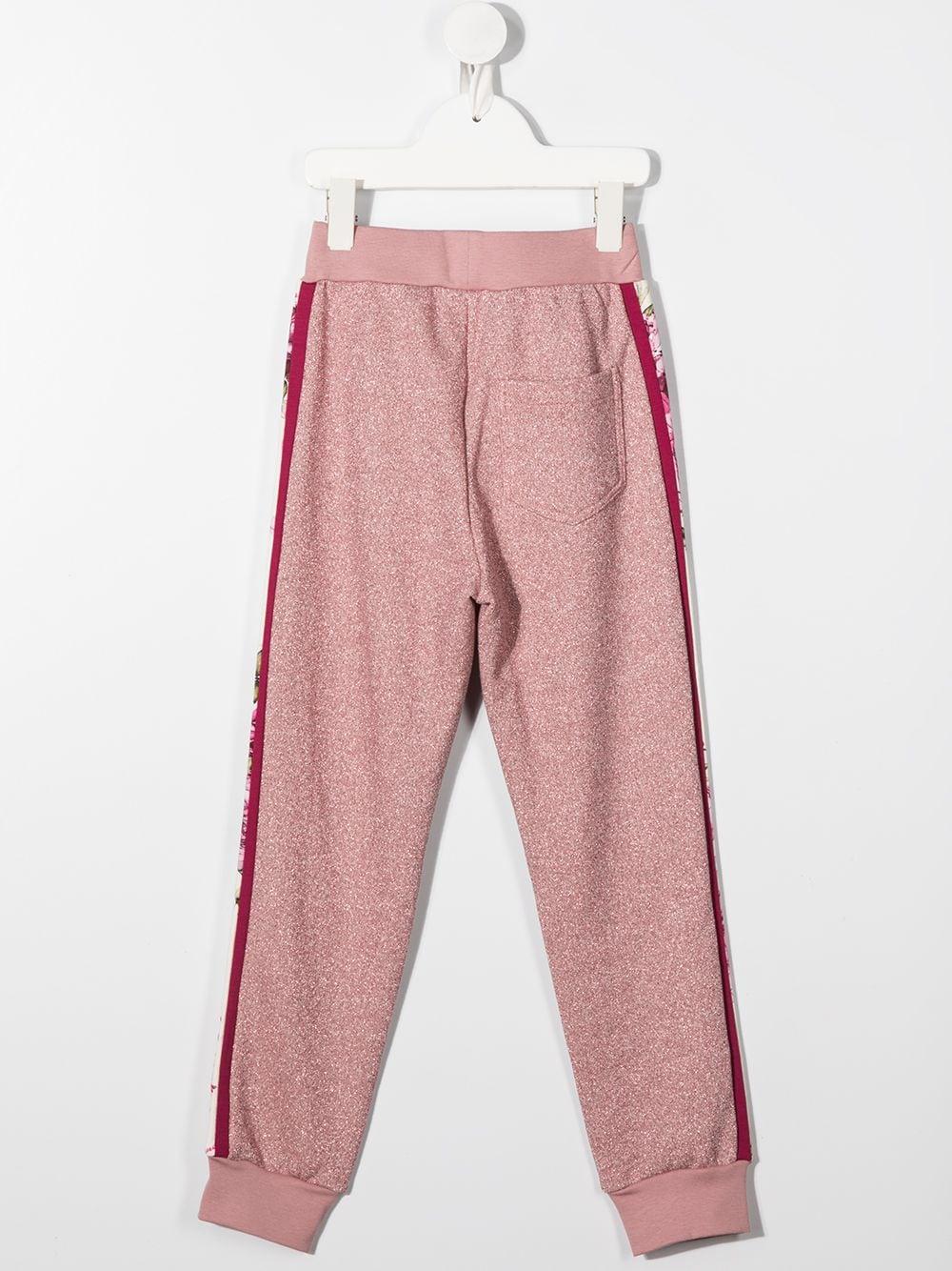 pantaloni felpa con banda laterale MONNALISA | Pantaloni | 196402R56002092C