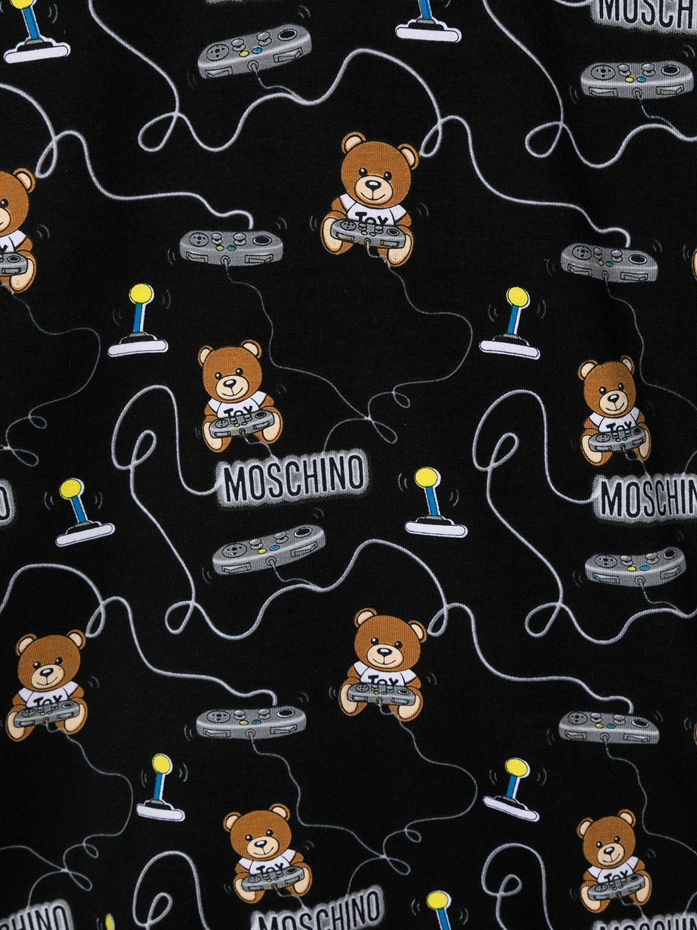 felpa Moschino con multi orsetti play MOSCHINO KIDS | Felpa | HNF02ZLDB4384449
