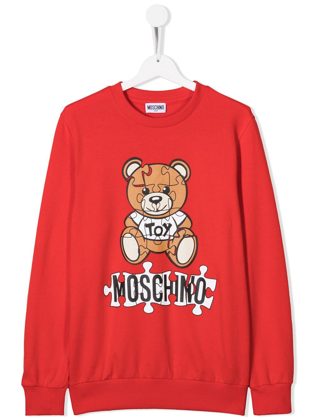 MOSCHINO KIDS | Sweatshirt | HQF039LDA1450109T