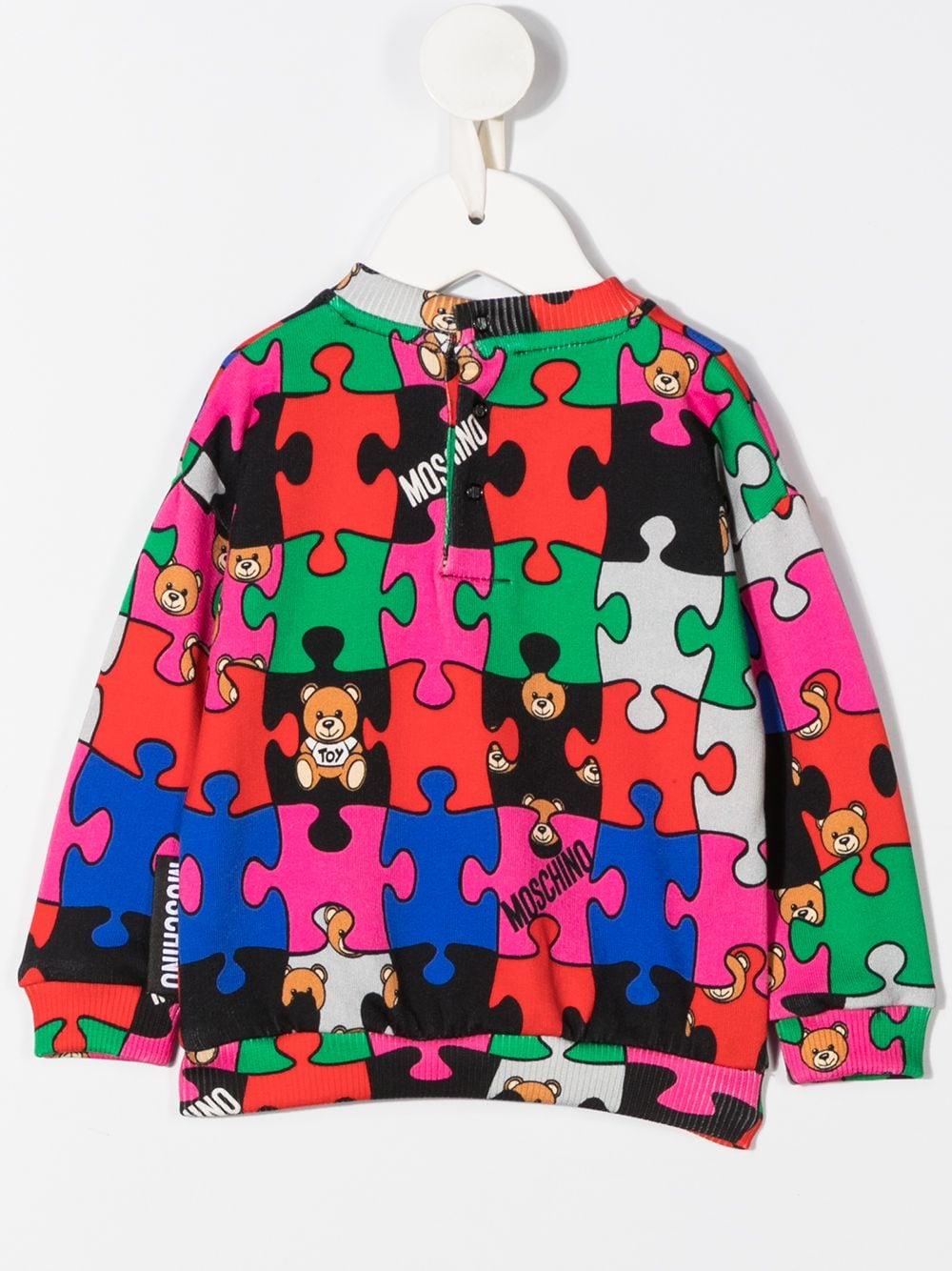 MOSCHINO KIDS | Sweatshirt | MSF02ZLCB0980964