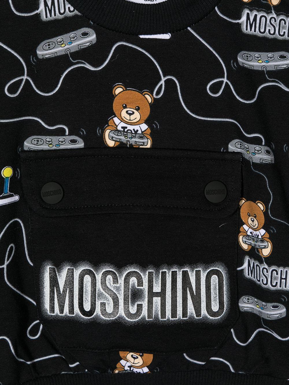 MOSCHINO KIDS | Sweatshirt | MUF03BLDB4384449