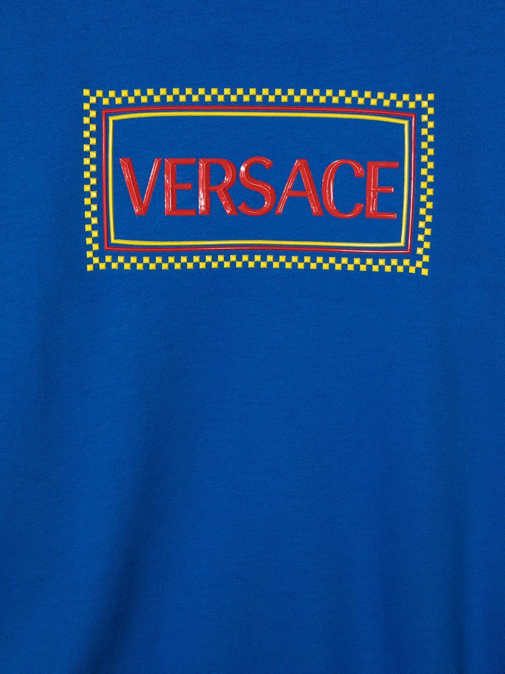 felpa con critta logo young versace young versace | Felpa | YD000288YA00078A3499T