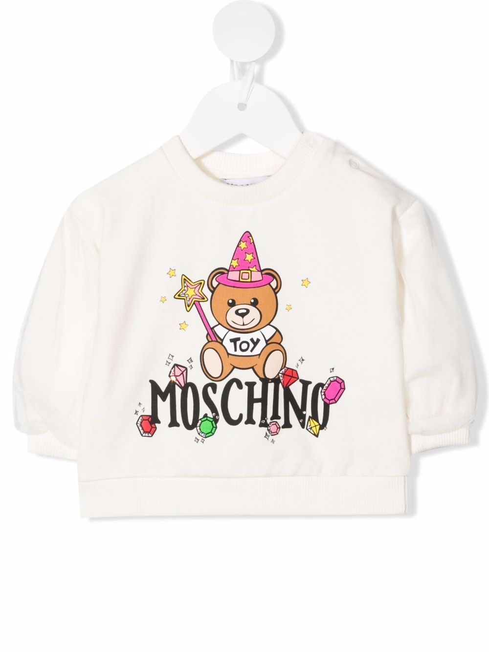 MOSCHINO BABY   Sweatshirt   MDF02CLDA2210063