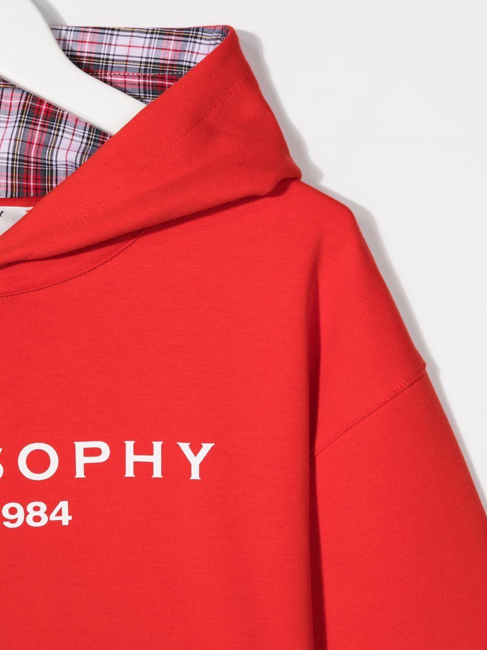 philosophy kids lpa con cappuccio stampa logo Philosofy kids   Felpa   PJFE60FE147YP0053005