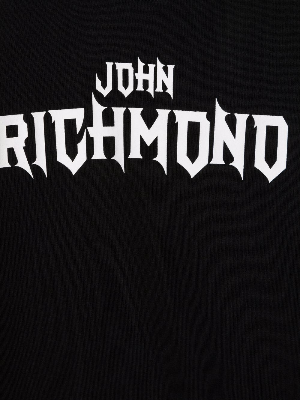 john richmond felpa con logo pisada john richmond | Felpa | RBA21015FEW3079