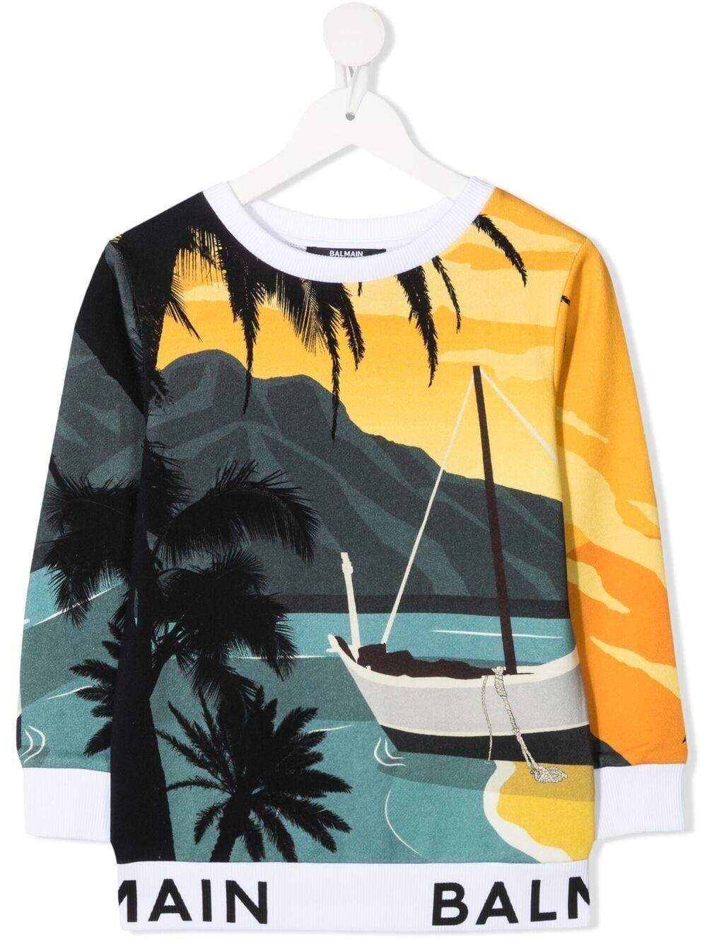 Balmain | Sweatshirt | 6O4720OX370999
