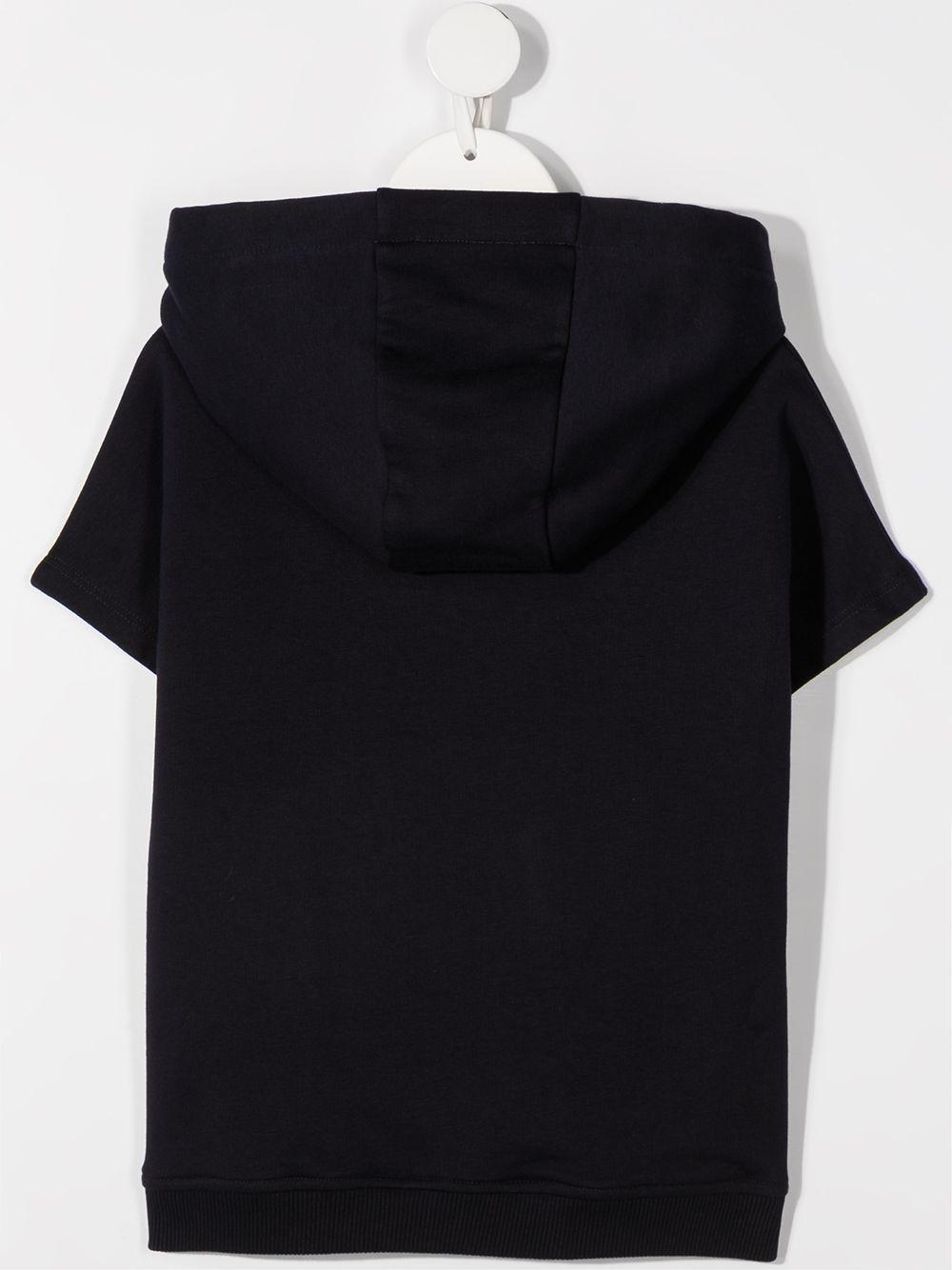 felpa mezza manica con cappuccio e stampa logo chloe' CHLOE' | Felpa | C15B80859