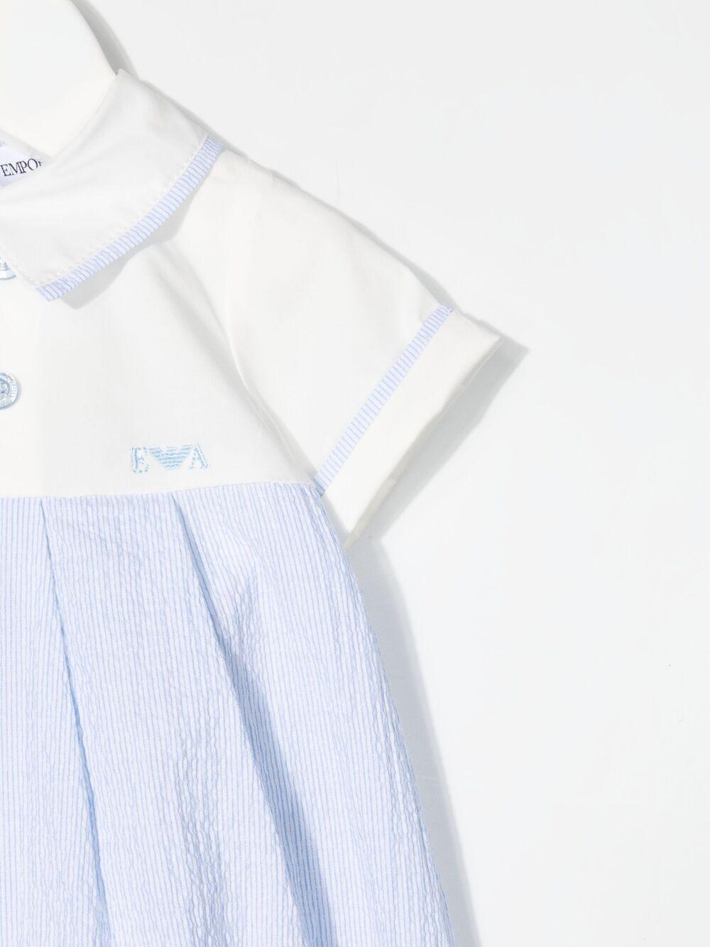 emporio armani pagliaccetto in tessuto EMPORIO ARMANI KIDS | Pagliaccetto | 3KHD744N54ZF703