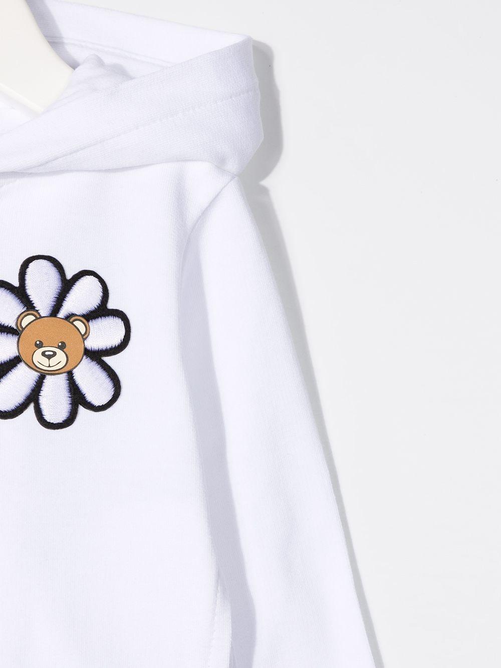 felpa moschino baby MOSCHINO KIDS | Felpa | MDF027LDA0010101
