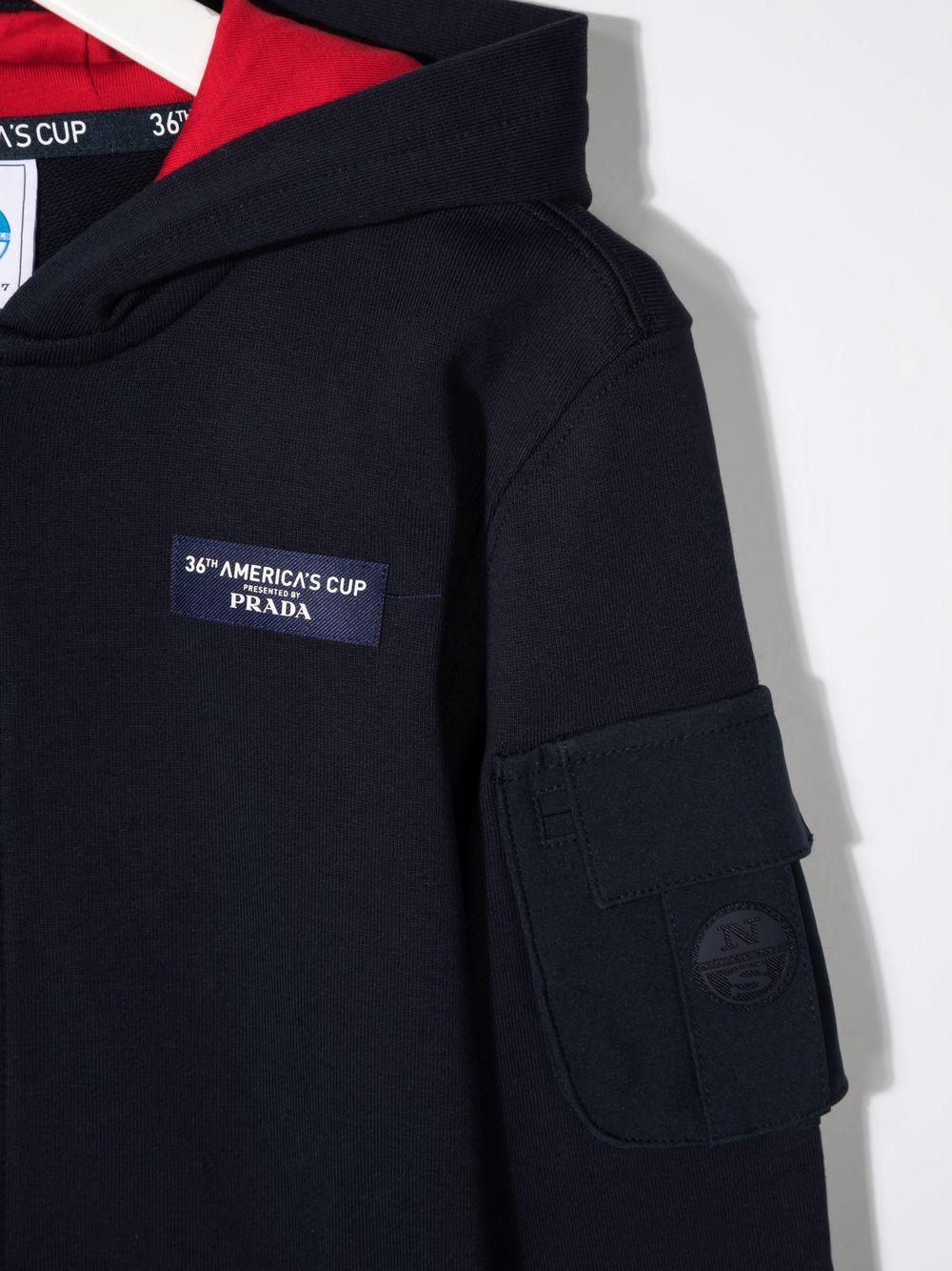 North sails x Prada Kids   Sweatshirt   4518000802BL