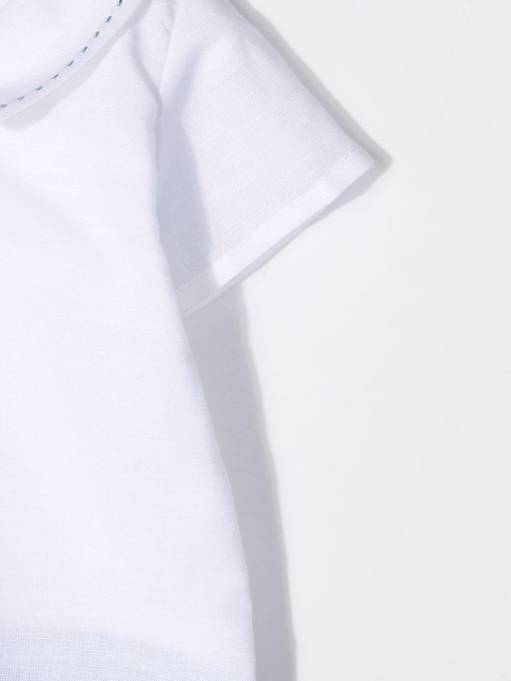 paz rodriguez pagliaccetto in lino e filo di cotone Paz rodriguez   Pagliaccetto   325410110