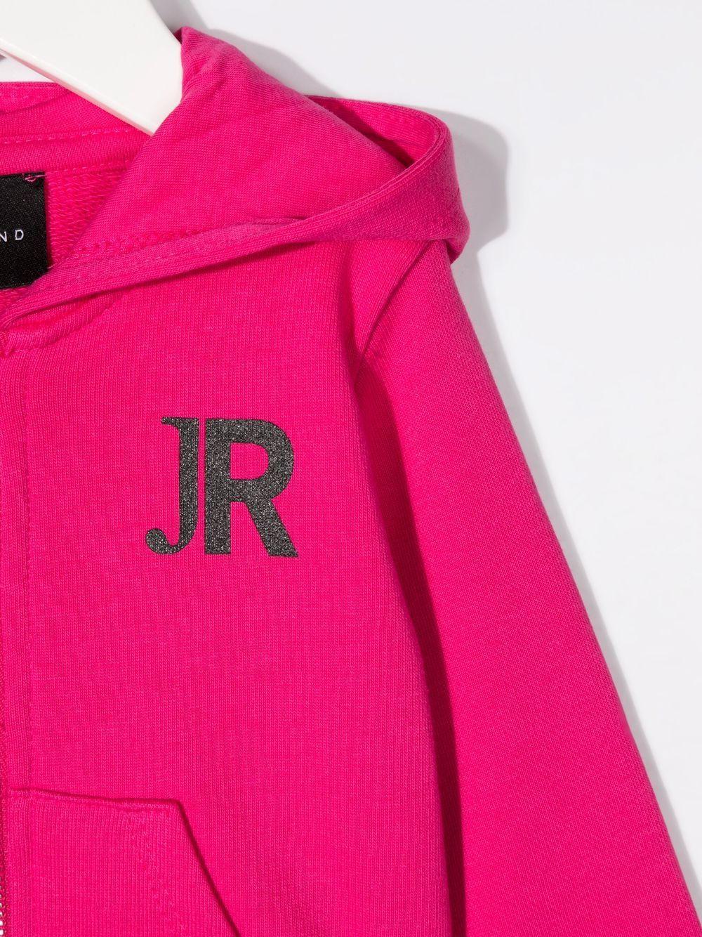 john richmond felpa aperta con cappuccio con stampa logo john richmond   Felpa   RIP21086FEW0486