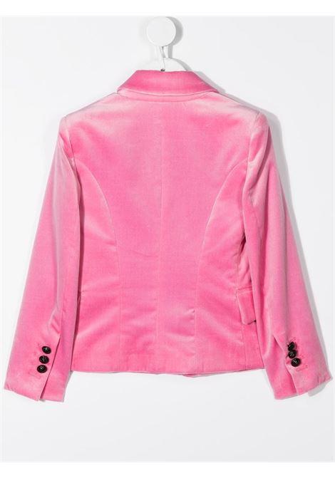 giacca in velluto con bottoni neri logati balmain Balmain | Giacca | 6N2124NE710516