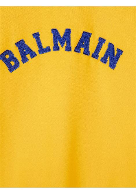 felpa balmain con logo Balmain | Felpa | 6N4690NX300201