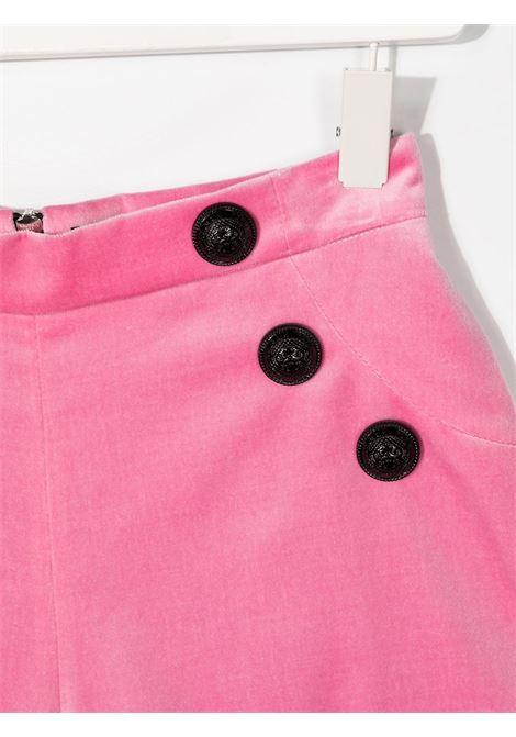 shorts velluto con bottoni Balmain | Bermuda | 6N6129NE710516T