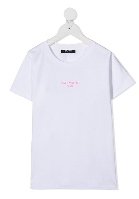 tshirt con mini logo Balmain | T shirt | 6N8031NX310100RS