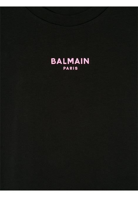 con mini logo Balmain | T shirt | 6N8031NX310930RS