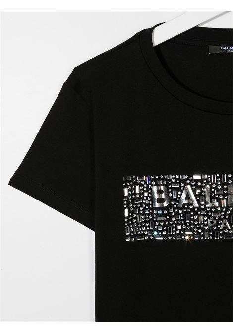 tshirt con applicazioni Balmain | T shirt | 6N8071NC610930T
