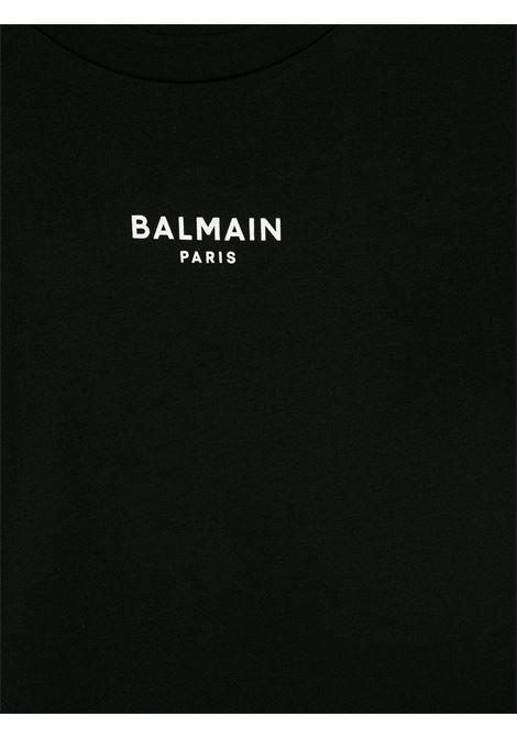 tshirt con mini logo Balmain | T shirt | 6N8541NX310930BC