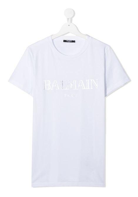 tshirt con stampa Balmain | T shirt | 6N8551NX290100AGT