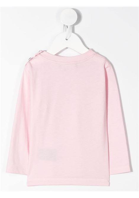 felpa con logo laminato Balmain | T shirt | 6N8800NX290515