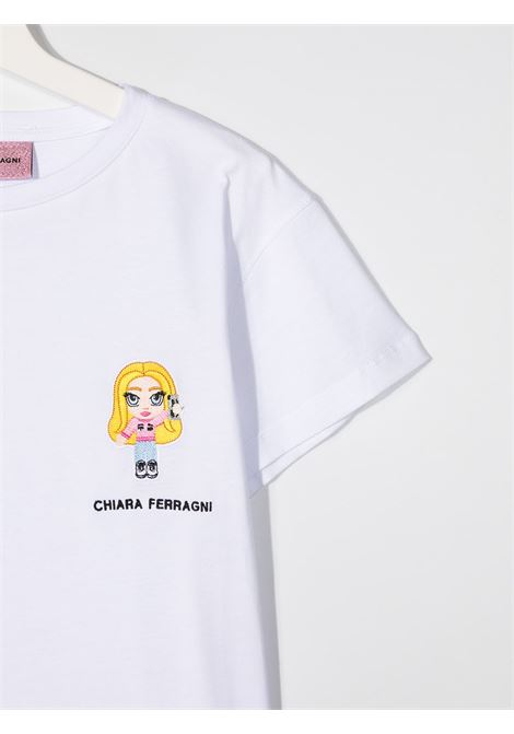 CHIARA FERRAGNI | T shirt | CFKT022WHT