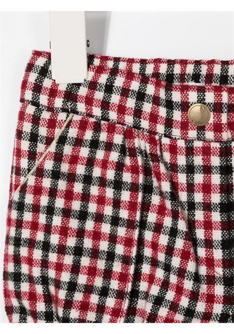 short chloè a quadretti CHLOE' | Shorts | C04170968