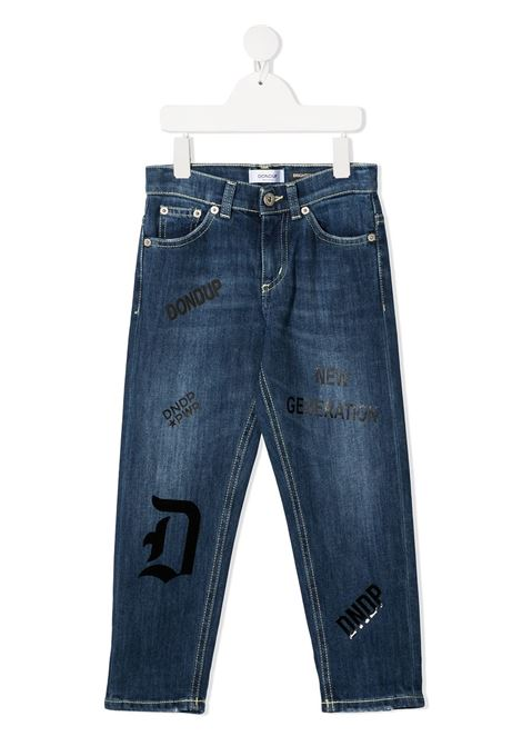 denim brighton con stampe DONDUP | Jeans | BP215DS0107BAU5W800