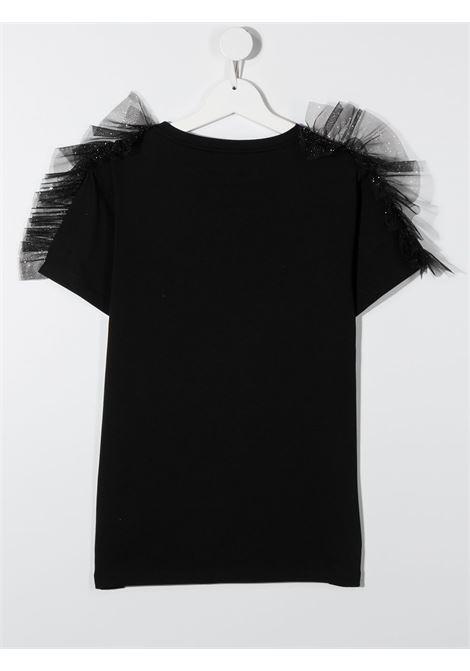 tshirt con rouches DONDUP | T shirt | YS193JY0020ZA35999T