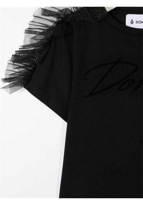 tshirt con rouches DONDUP | T shirt | YS193JY0020ZA35999