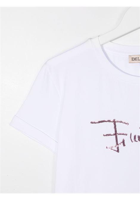 logo paillettes EMILIO PUCCI | T shirt | 9N8151NC470100T