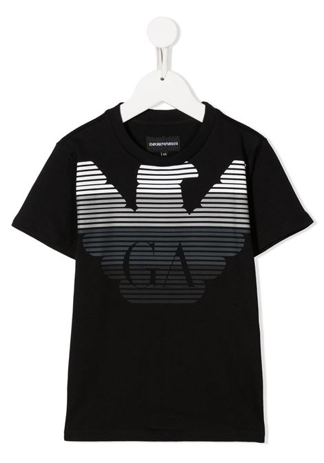 EMPORIO ARMANI KIDS   T shirt   6H4TQ71J00Z0999