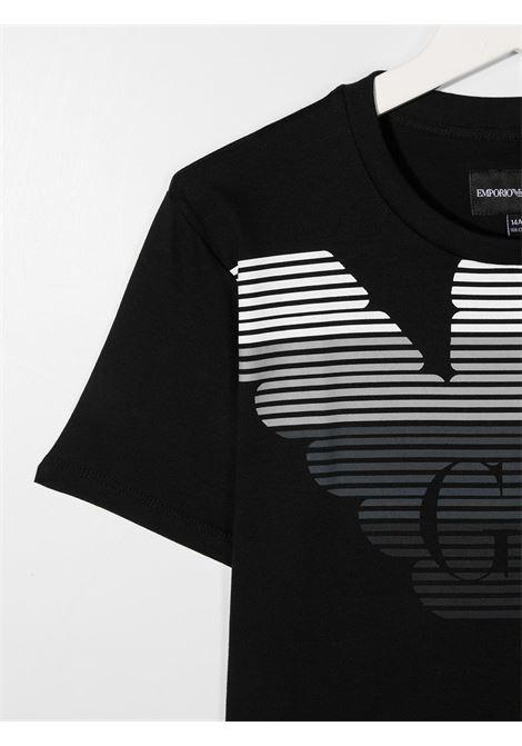 EMPORIO ARMANI KIDS   T shirt   6H4TQ71J00Z0999T