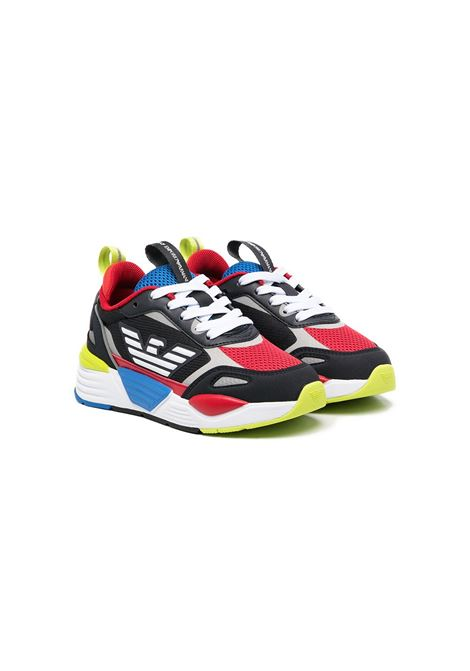 sneakers multicolor EMPORIO ARMANI KIDS | Calzature | XSX012XOT31M981