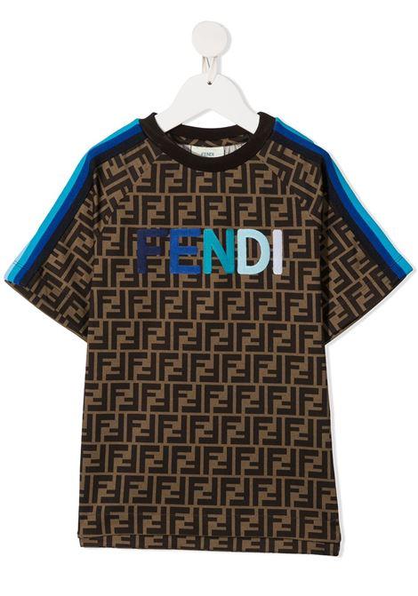 FENDI | T-shirt | JUI015ACZSF1BWE