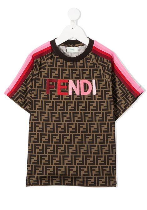 FENDI | T-shirt | JUI015ACZSF1C5E