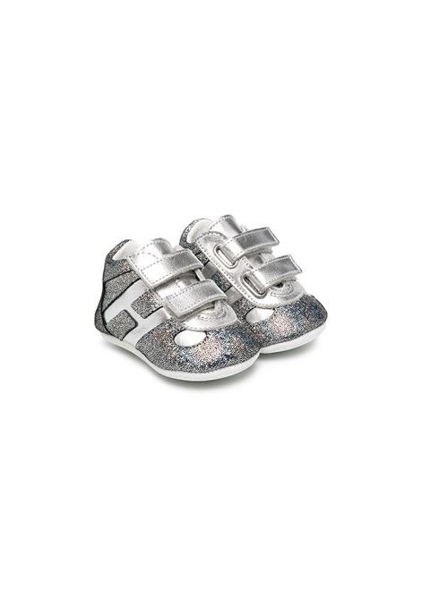hogan olympia velcro h HOGAN | Sneakers | HXB0570Z330O79B200