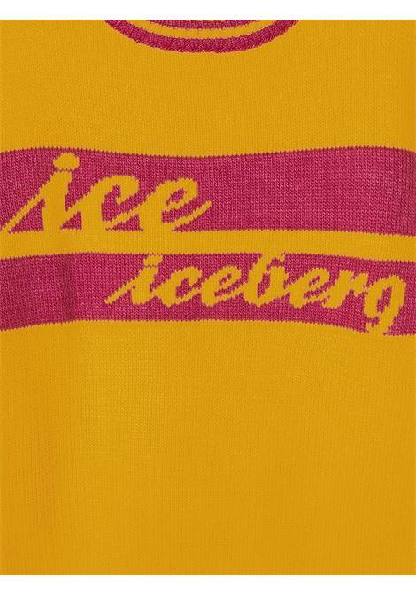 pullover con scritta logo ICEBERG | Maglia | MGICE0352J500T