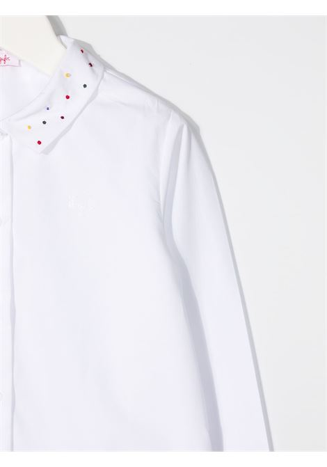 camicia il gufo con ricamo e perline colorate collo IL GUFO | Camicia | A20CL185C00480137