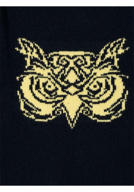 pullover bicolore il gufo con faccia gufo IL GUFO | Maglia | A20MA330EM2204920
