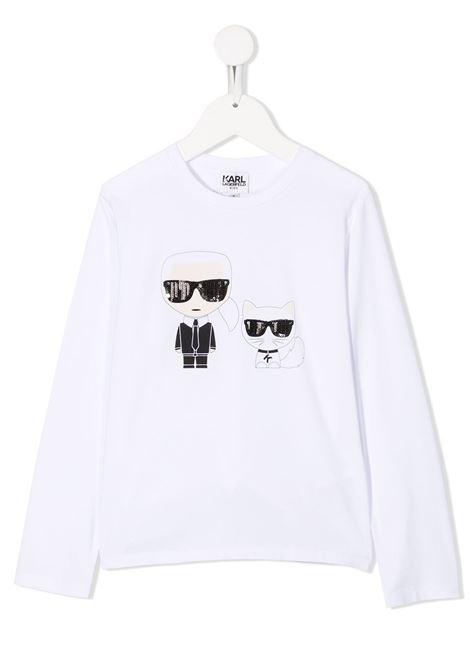 t-shirt logata karl lagerfeld kids KARL LAGERFELD KIDS | T shirt | Z1528710B