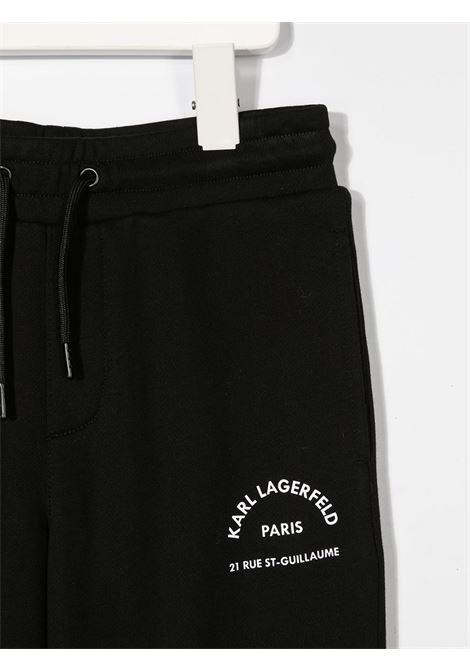 pantalone karl lagerfeld kids in felpa KARL LAGERFELD KIDS | Pantalone | Z2410009B